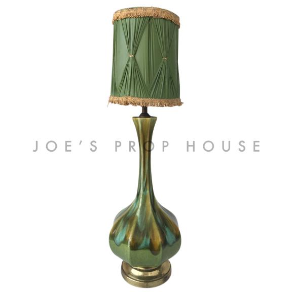 Verde Pottery Glaze Table Lamp