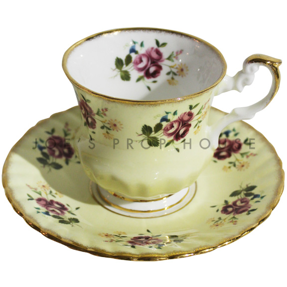 Agnes Floral Teacup and Saucer