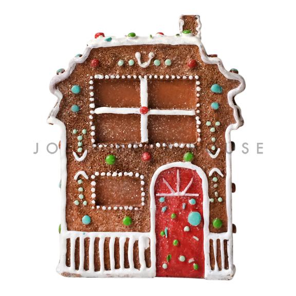 BUY ME / USED ITEM $14.99 Red Door Gingerbread House