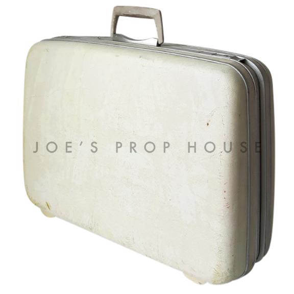 Carly Hardshell Suitcase Off-White LARGE
