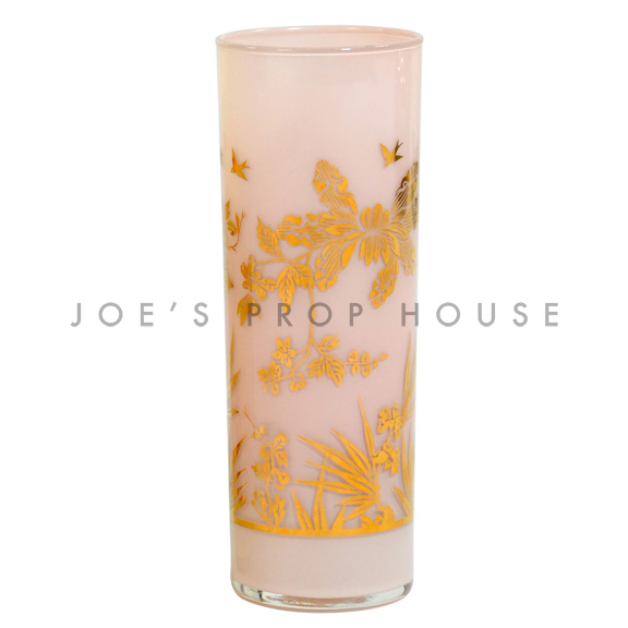 Foil Water Glass Pink