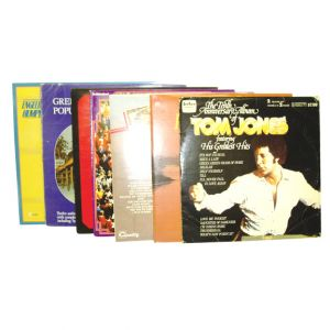 Assorted 12in Vinyl Record Albums