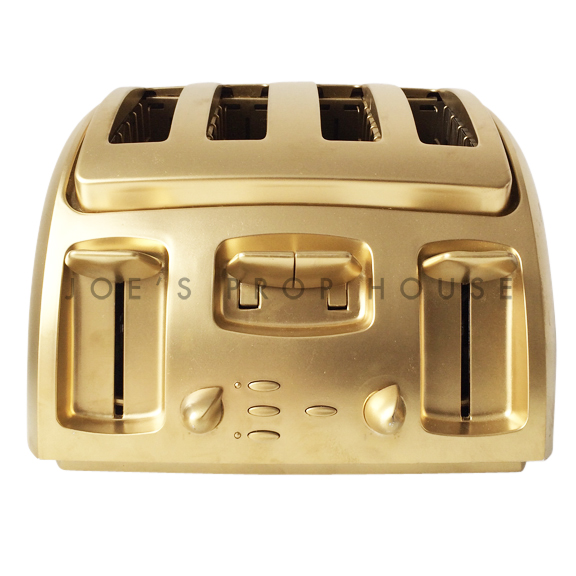 Four Slice Toaster Gold