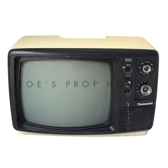 Black and White PANASONIC Television