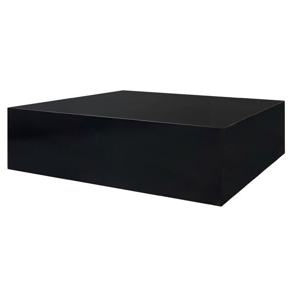 Black Plexi Stage W60in x L60in x H18in
