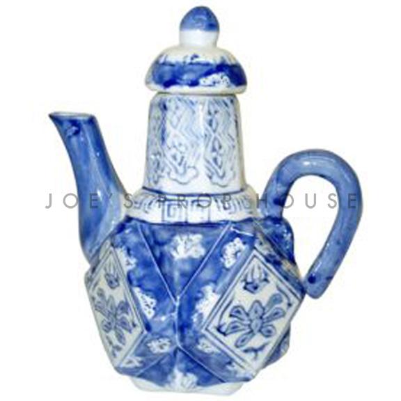 China Blue Teapot