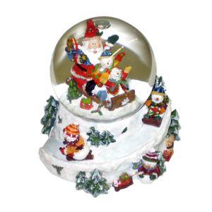 BUY ME / USED ITEM $14.99 Santa Snow Globe