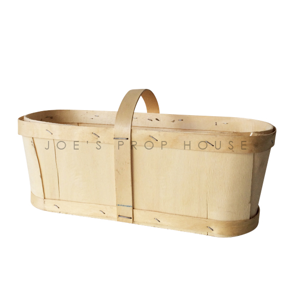 Chipwood Berry Basket w/handle