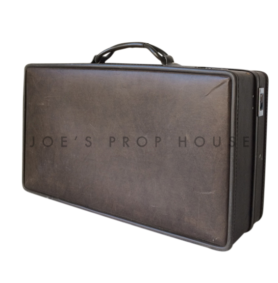 Barnes Softshell Suitcase Dark Brown