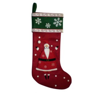 BUY ME / USED $12.99 Santa Christmas Stocking
