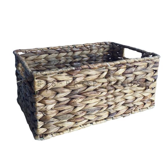 Bassett Rectangular Wicker Basket