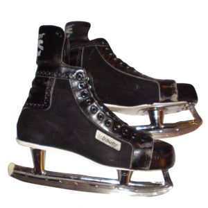 BAUER Mens Hockey Skates Black