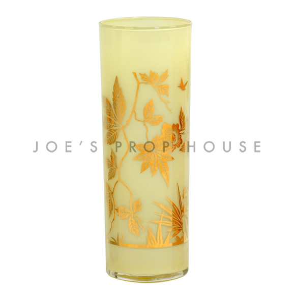 Foil Water Glass Yellow