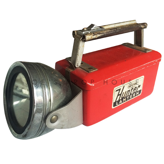Vintage Hunter Flashlight Red