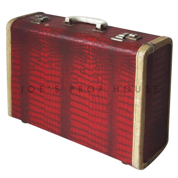 Red Croc Hardshell Suitcase