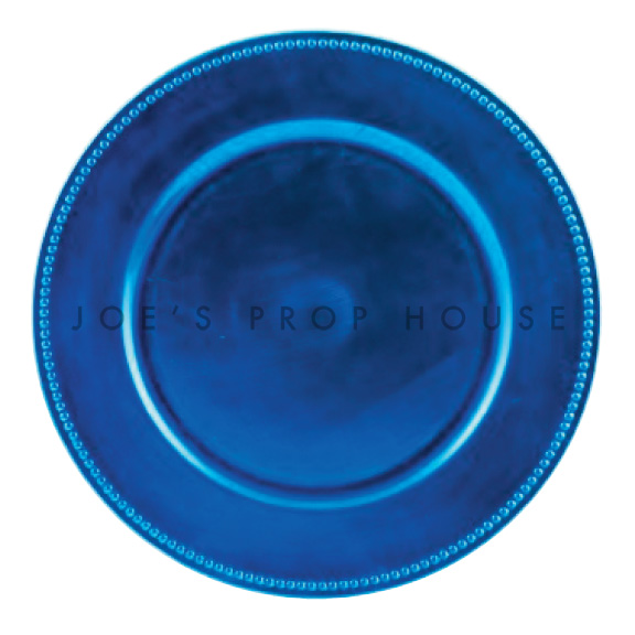 BUY ME / USED ITEM $1.99 each Turquoise Beaded Charger Plate