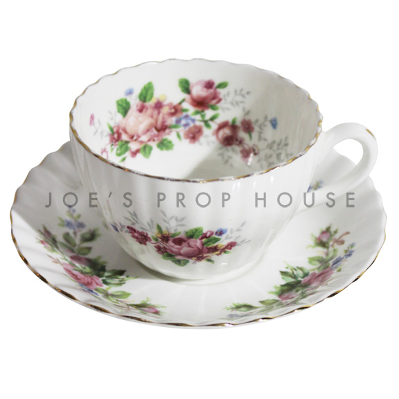 Tracey Floral Teacup and Saucer