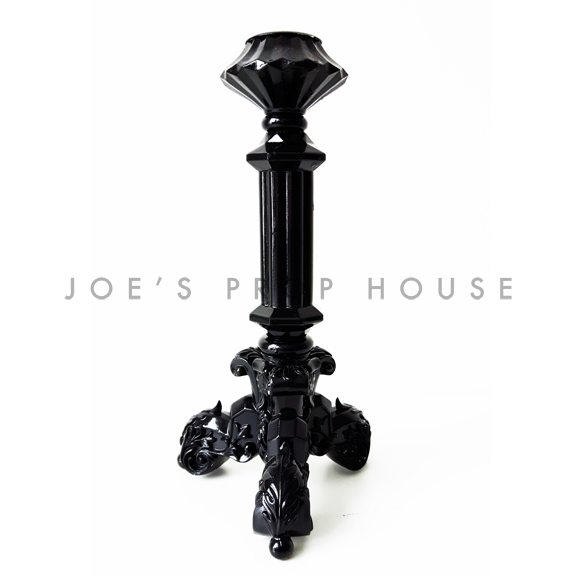 BUY ME / USED ITEM $5.99 each Lucinda Tapered Candlestick Black