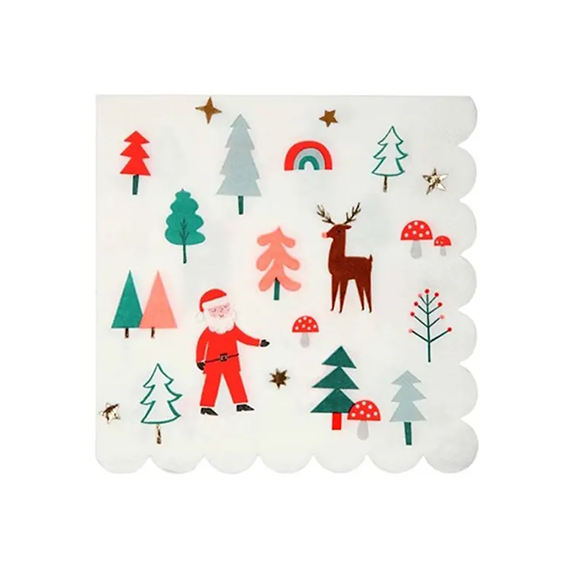 BUY ME / NEW ITEM $8.99 each Holiday Icon Large Napkins - 16 Pack