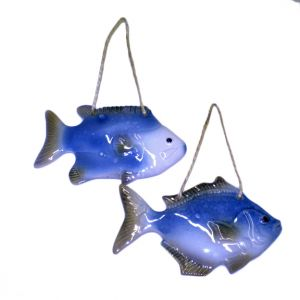 Wall Hanging Ceramic Fish