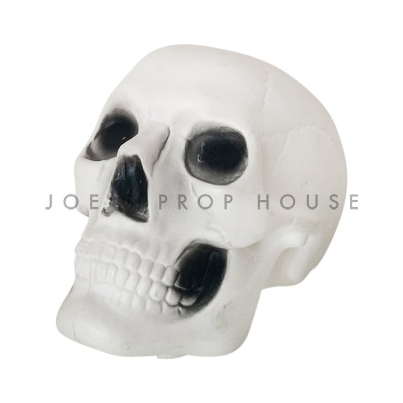 BUY ME / USED ITEM $3.99 each White Plastic Skull