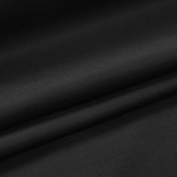 Black POLYESTER Tablecloth Round 108in