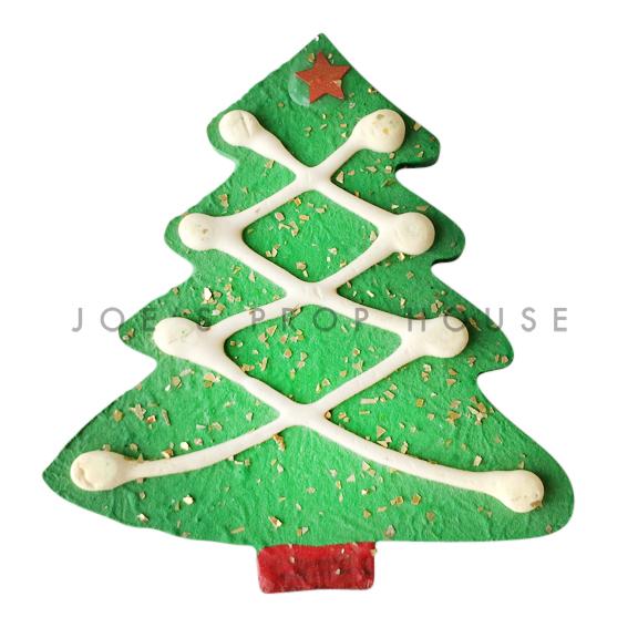 BUY ME / USED ITEM $5.99 each Green Christmas Tree Cookie Dessert Prop