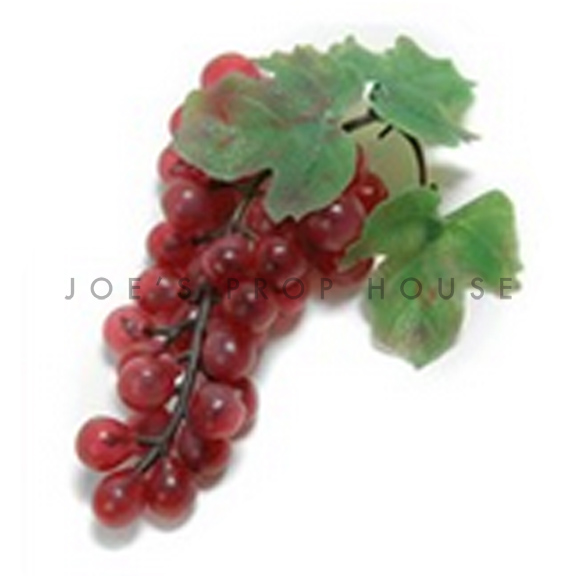 Artificial Red Grapes