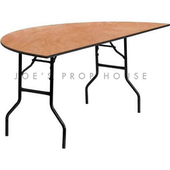 Demi Lune Folding Dining Table L60in x D30in x H30in
