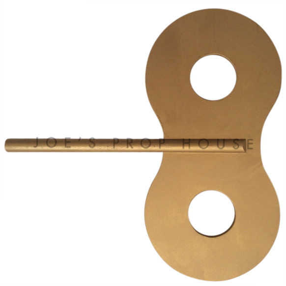 Giant Gold Toy Wind Up Key