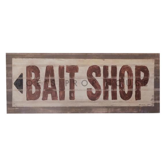 Bait Shop Sign