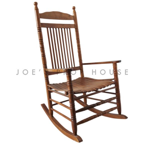 BUY ME / USED ITEM $95.00 each Abigail Wooden Rocking Chair Brown