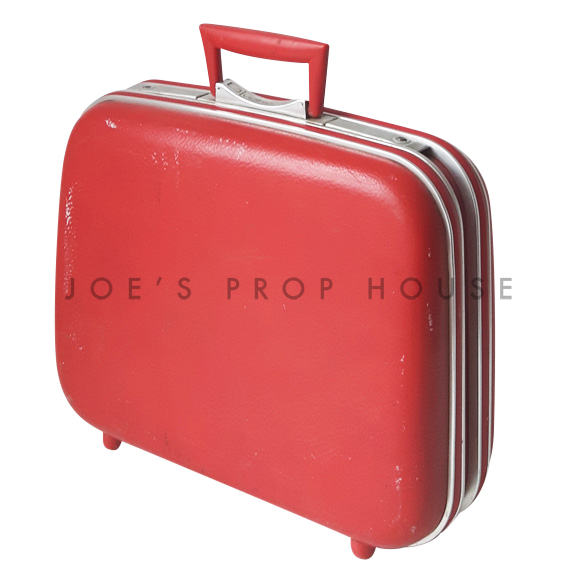 Meridith Hardshell Suitcase Red SMALL
