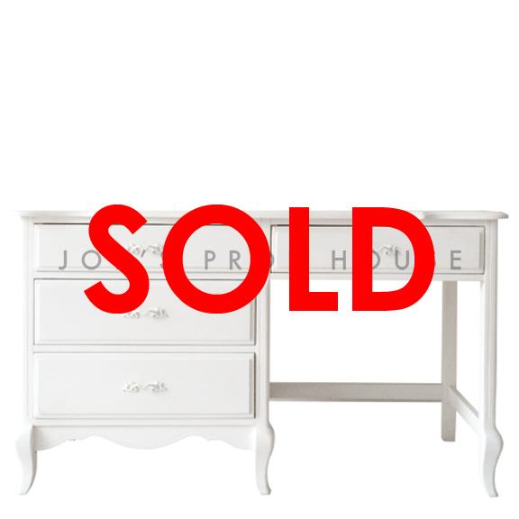 BUY ME / USED ITEM $125.00 White Celia Writing Desk