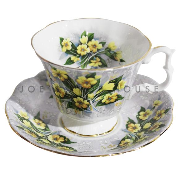 Tasse à thé et soucoupe Anastasia