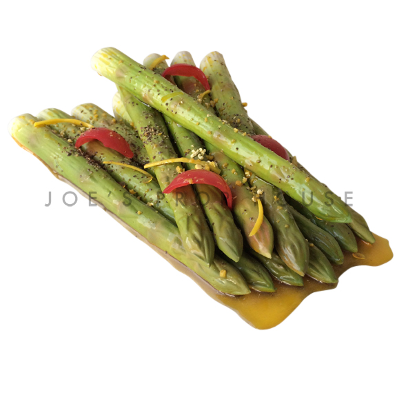 Cooked Asparagus Food Prop