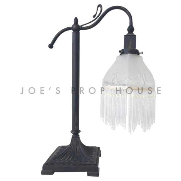 Vivika Beaded Gooseneck Table Lamp