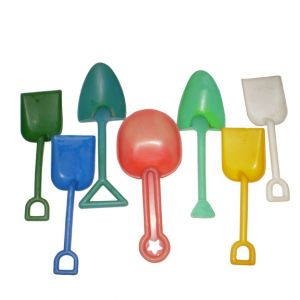 Plastic Sand Shovels