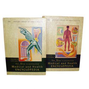 Medical & Health Encyclopedia Hard Cover Books