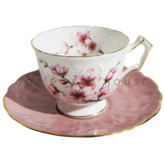 Savannah Floral Teacup and Saucer