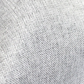 Grey + Silver Metallic Thread VINTAGE LINEN Tablecloth Round 132in