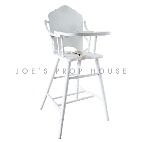 Alexa High Chair White