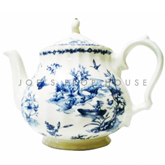 Countryside Blue Teapot
