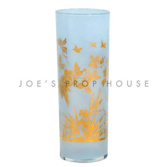 Foil Water Glass Blue
