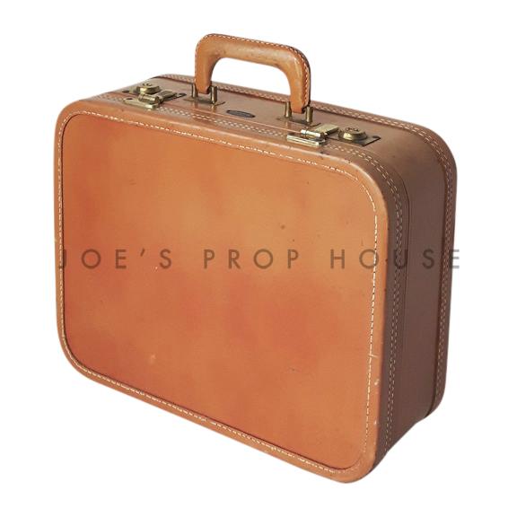 Bernadette Hardshell Vanity Suitcase Tan SMALL