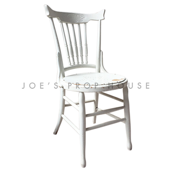 Brittany STAR Wooden Chair White