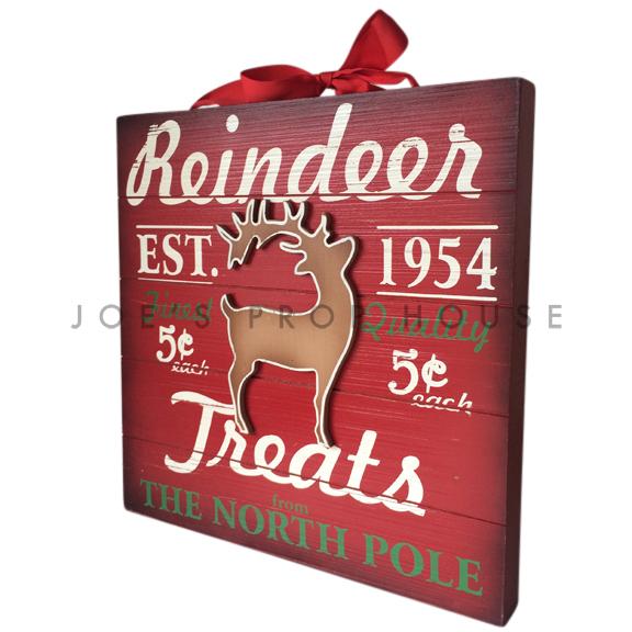 BUY ME / USED ITEM $14.99 Reindeer Treats Sign