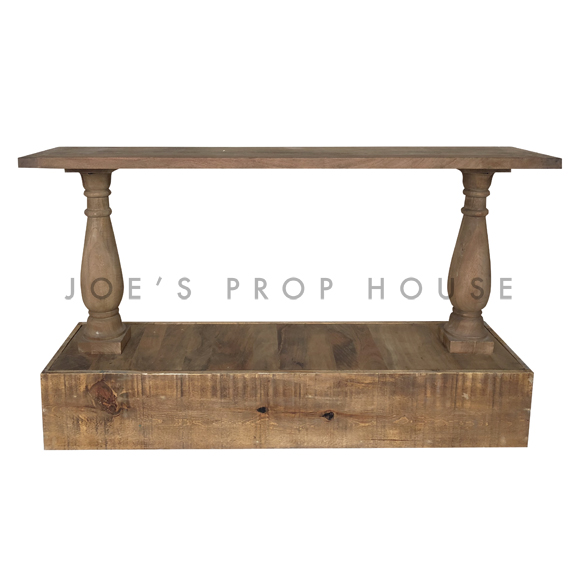 Reclaimed Console w/Elevation