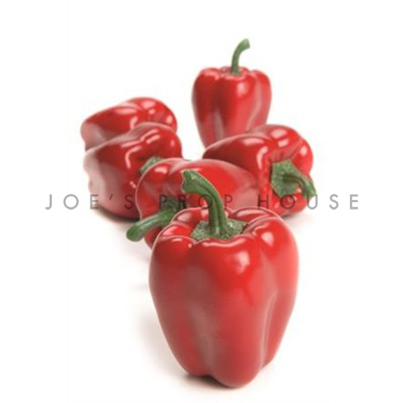 Artificial Red Bell Peppers