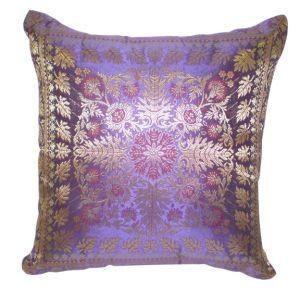 Jordan Satin Accent Pillow Purple